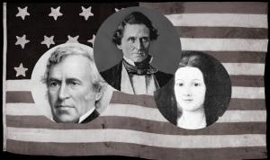 Zachary Taylor, Jefferson Davis, Sarah Knox Taylor Davis,