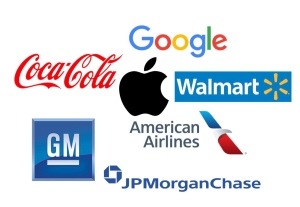 CT Company,corporations,companies, apple, General Motors, google,American Airlines,coca-cola,logos, Delaware,