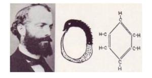 Friedrich August Kekule, Ouroboros Dream Benzene