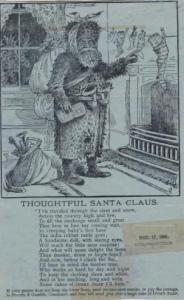 Santa 1885 Ivory Soap advertisement