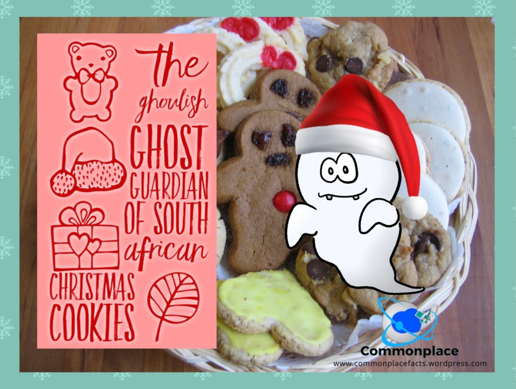 South Africa Christmas ghost Danny Cookies