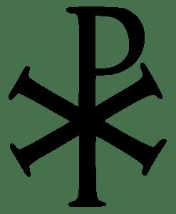 Chi Ro symbol for Christ