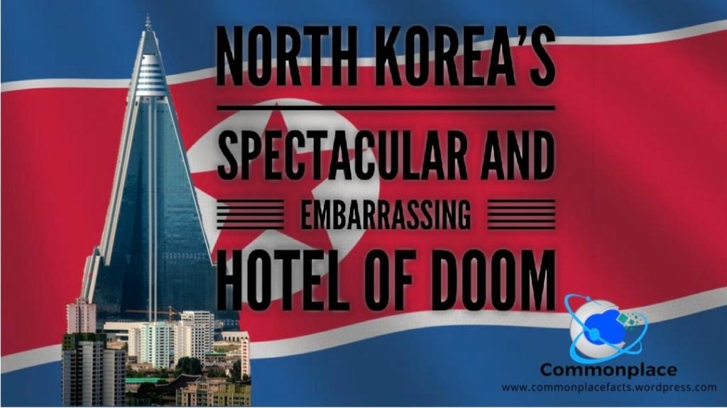 North Korea's Ryugyong Hotel in Pyongyang