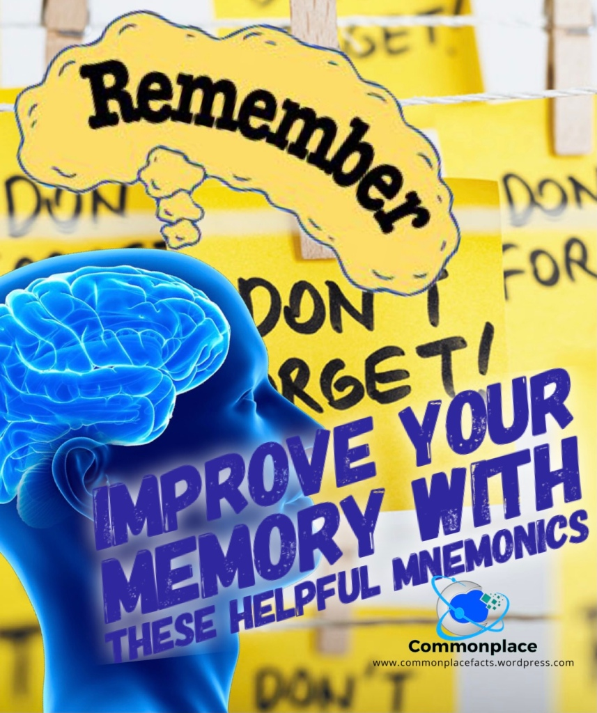 Improve your memory with these helpful mnemonics