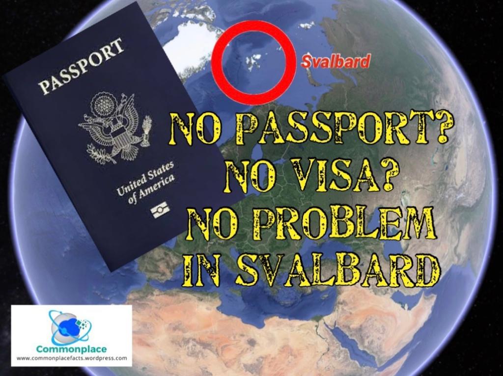 Svalbard no passport or work visa required