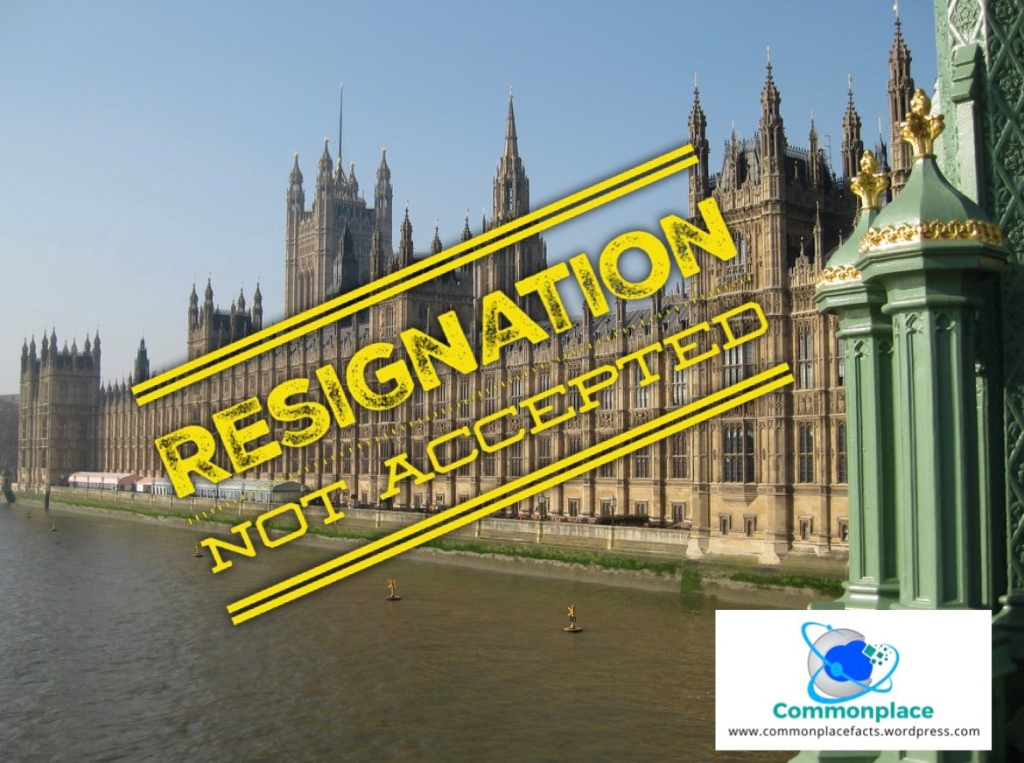 Illegal to resign from Parliament Chiltern Hundreds