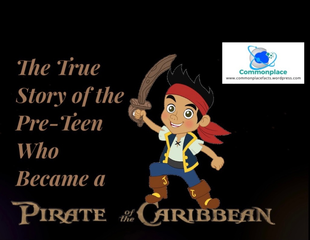 John King youngest boy pirate in history