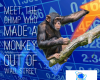 Raven Thorogood III the chimp Guinness World Record Most successful chimp on Wall Street