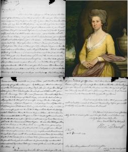 Elizabeth Willing Powel George Washington letter