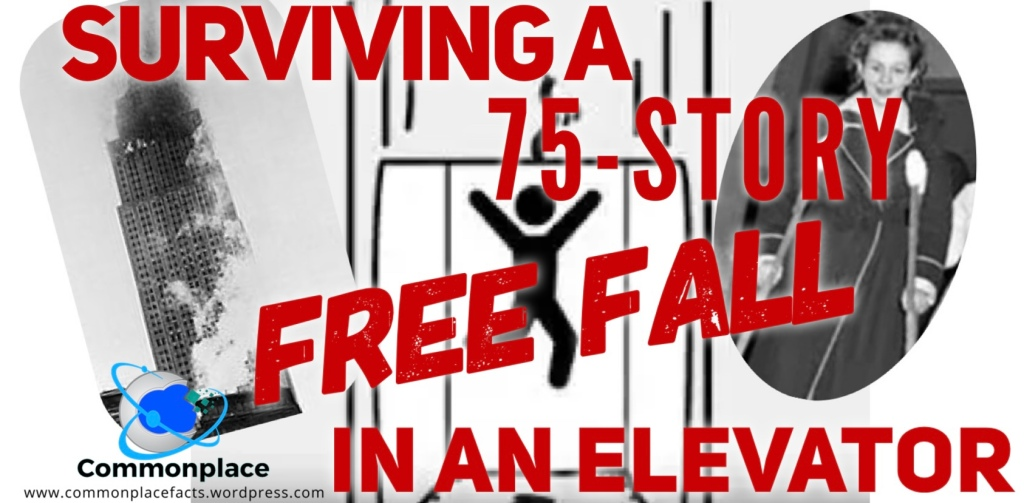 Surviving a 75-story free fall in an elevator