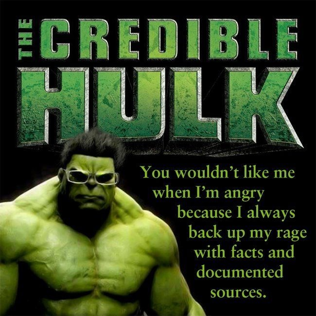 The credible hulk facts and documented sources