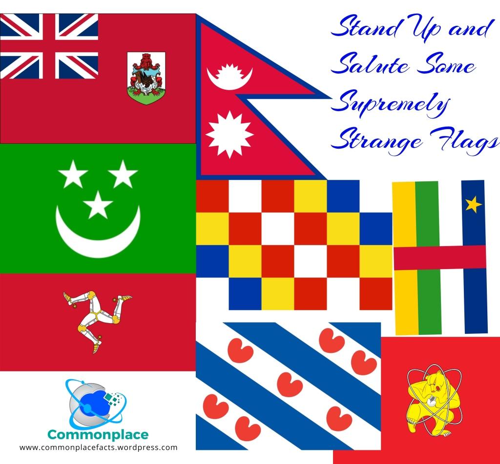 strange flags weird flags weirdest flags